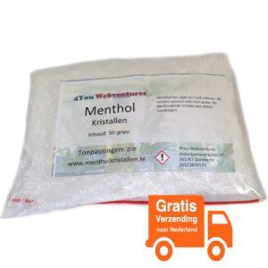 menthol-kristallen-gratis-verzending-voedselveilig-plastic